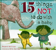 cover - 15 Things not to do with a baby